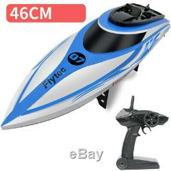 100 High Speed RC Boat 2.4GHz 45km/h 4Channel Racing Remote Control Toy Gift