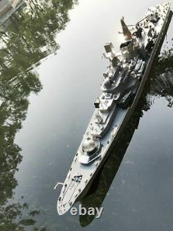 1275 Scale 31Inch Large Remote Controlled Warship Battleship Rc Ship On Lakes P