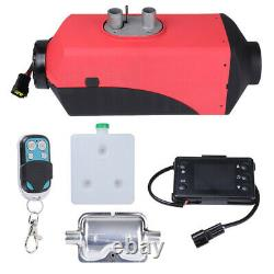 12V 5KW Air Diesel Fuel Heater LCD Remote Control For Car Motor Boat Truck prop