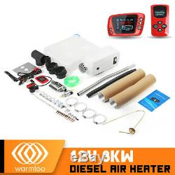 12V 8KW Diesel Air Heater LCD Remote Control For Car Bus Trailer Trucks Boat