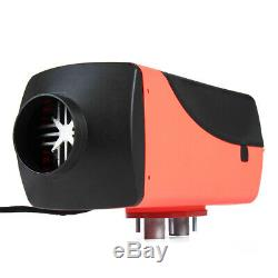 12V 8KW Diesel Air Heater Remote Control LCD Thermostat For Trucks Boat Trailers
