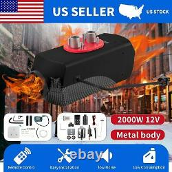 12V Diesel Air Parking Heater 2000W For Trucks Car Boat Bus withRemote Control