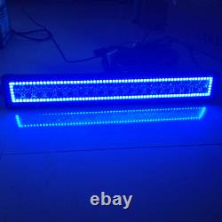 14 72W Led Light Bar Combo with RGB Halo Chasing For Truck 4X4 4WD Boat SUV ATV