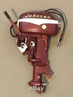 1950s Johnson Outboard 30 Seahorse Motor for Remote Controlled Boat