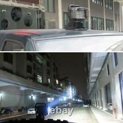 1X 50W CREE LED Remote Control Search Work Light Marine 360° Spot For Boat Truck