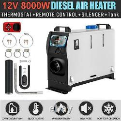 20218000W Air Diesel Heater All in One 12V 8KW LCD Remote Control Car Boat