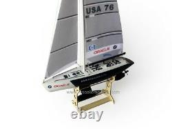 25 RC Remote Control 4 Channels Sailboat 120SH Motor BMW Oracle