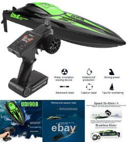 2.4G Brushless RC Racing Boat 40KM/h High Speed Electronic Remote Control Boat H