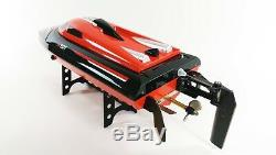 2.4G RC Boat Remote Control Lightning High Speed Racing Boat RTR Water Cooling