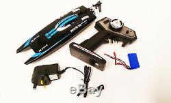 2.4G Remote Control RC Racing Boat 30KM/H High Speed Electric Airship Water Toys