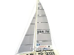 33 RC Remote Control 2.4G Sailboat 380 Motor BMW Oracle
