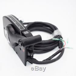 40hp Mercury 8 Pin Outboard Boat Right Side Mount Remote Control Box Cable 15ft