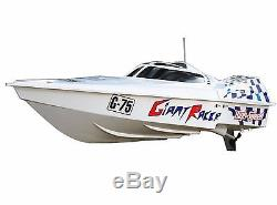 45 Huge Gigantically High Speed Racer Electric EP Boat Remote Control White