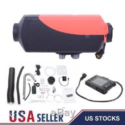 5000W Diesel Air Heater 5KW 12V Tank LCD Remote Control Car Truck Boat MotorHome