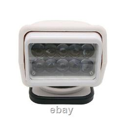 50W Led Remote Control Search Light 360° Magnetic Base Truck Boat Camping 1PC