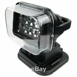 50W Search Light Remote Control Magnetic Spotlight Wireless LED 360° Boat Truck