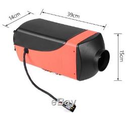 5KW 12V Diesel Air Heater 10L Tank LCD Remote Control For Truck Boat Car Trailer