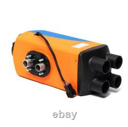 5KW 12V Diesel Air Heater 10L Tank Remote Control LCD For Truck Boat Car Trailer