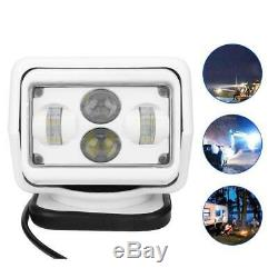 6000K 6800LM 60W Remote Control Search Light Outdoor Spotlight for Car Boat