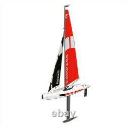 65cm 2.4G 4CH RC Boat Pre-assembled Remote Control Ship Sailboat Kid's Boy's Toy