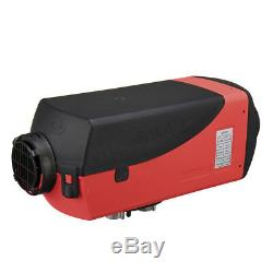 8KW 12V Diesel Air Heater Remote Control Red LCD For Truck Boat Car Trailer US