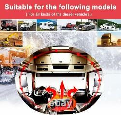 8KW Air Diesel Heater 12V Car Truck Boat Motorhome With LCD Remote Control US