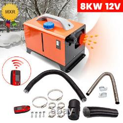 8KW Diesel Air Heater All In 1 12V +Remote Controller for Truck Boat RV Trailers