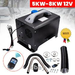 8KW Diesel Air Heater All In 1 12V +Remote Controller for Truck Boats Pickup