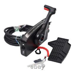 8 Pin Boat Outboard Right Side Mount Remote Control Box With cable For Mercury