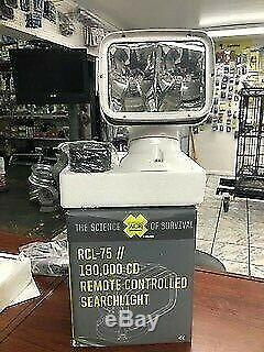ACR RCL-75 Wide Beam 12V Searchlight Boat Spot Light with Point Pad Remote Control