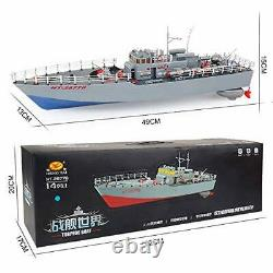 AEDWQ RC Remote Control Boats HT-2877B 1/115 Proportion 2.4GHz Pull Fish Ne