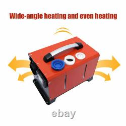 Air Diesel Parking Heater 12V 5KW Remote Control for Car RV Trailers Trucks Boat