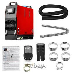 All In One 12V 8KW LCD Diesel Air Heater Remote Control for Truck Boat Motorhome