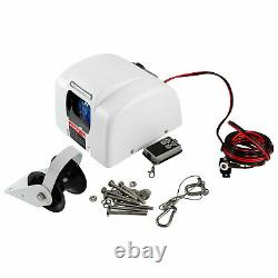 Boat Electric Anchor Winch with Remote Wireless Control Marine Windlass 25 LBS