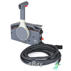 Boat Marine Outboard Remote Control Box for Yamaha PUSH Throttle 10 Pin Cable