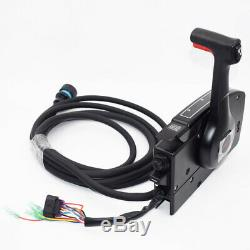 Boat Mercury 14 PIN Left Side Steering Outboard Remote Control Box Single Engine