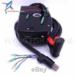 Boat Motor Side Mount Remote Control Box 881170A15 With 8 Pin for Mercury PT