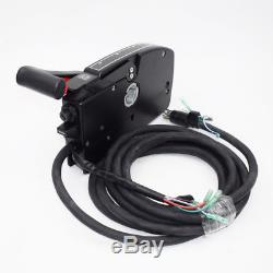 Boat Motor Side Mount Remote Control Box With8 Pin Cable 15ft Fit For Mercury Trim