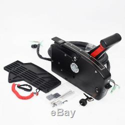 Boat Motor Side Mount Remote Control Box With 8Pin Cable15ft Outboard ForMercury