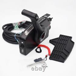 Boat Motor Side Mount Remote Control Box With 8 Pin Cable 15ft For Mercury Superb