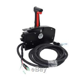 Boat Outboard 8Pin Right Side Mount Remote Control Box withcable For Mercury US