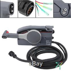 Boat Outboard Engine Side Mount Remote Control Box with 10 Pin for Yamaha New