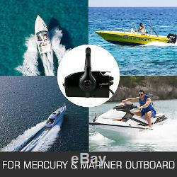 Boat Outboard Remote Control Box for Mercury 8Pin 15ft Right Side Mout 881170A3