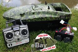 Brand New Carp Bait Boat. Lake Reaper, Camouflage A Fantastic Boat. Best Deal