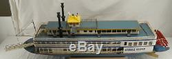 Built DUMAS Creole Queen Remote Control RC 48 Paddle River Boat #1222