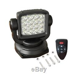CREE 80W Spot Led Remote Control Search Light 360° Magnetic Offroad Truck Boat