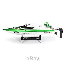 FT009 2.4G 4CH Remote Control High Speed RC Racing Boat with Water Cooling