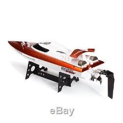 FT009 2.4G 4CH Water Cooling High Speed Remote Control Racing RC Boat Orange