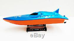 Fast RC Racing Large High Speed Boat Radio Remote Control Electric 25mph+ RTR UK