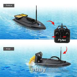 Flytec 2011-5 Fish Finder 500m Remote Controller Fishing Bait RC Boat USA B3A7